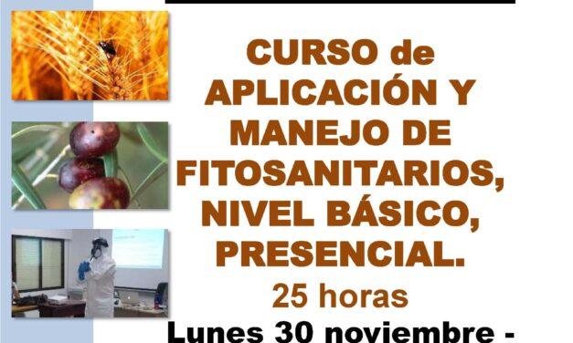 Curso Aplicación y manejo de fitosanitarios en Torrelaguna