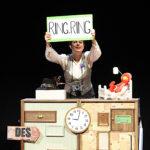 """""""Ring, ring  Cuénteme"""" de  la compañía Traspadilla Teatro en la Casa de Cultura de Torrelaguna"""