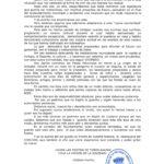 Mensaje del alcalde con motivo de las Fiestas Patronales, septiembre 2020