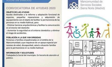 Hogar sin barreras. Convocatoria de ayudas para la reforma y adaptación de espacios