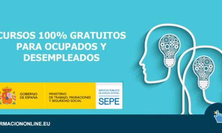 Cursos gratuitos del SEPE, para autónomos, empleados y personas en situación de ERTE