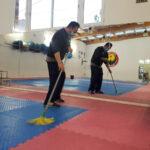 Polideportivo Antonio Martín: un tándem de salud y desinfección al servicio de los vecinos