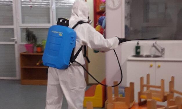 Desinfección en los centros educativos