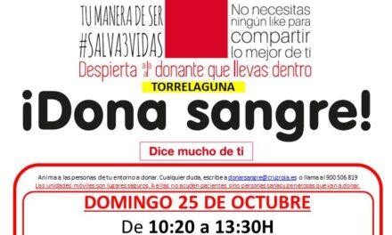 Donación de sangre en Torrelaguna