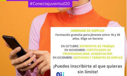 Webinar de empleo Conecta Juventud 2.0 Madrid