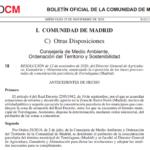 Se abre el periodo de encuesta de las bases provisionales de la Concentración Parcelaria de Torrelaguna (Madrid)