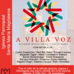Concierto de A VILLA VOZ en Torrelaguna