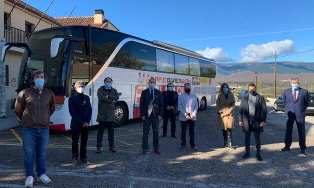 El EmpleaBus llegará a Torrelaguna en enero
