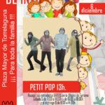 Concierto de  Petit Pop en la Plaza Mayor de Torrelaguna