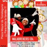 8 de diciembre Malabreikers en la Plaza Mayor