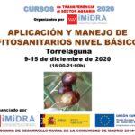 Segunda Edición del Curso de aplicación y manejo de fitosanitarios Nivel Básico