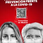 Código QR informativo de medidas de prevención contra la COVID-19