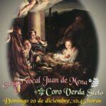 CONCIERTO DE NAVIDAD del Grupo Vocal Juan de Mena