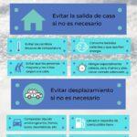 Recomendaciones del Ayuntamiento ante el temporal de nieve