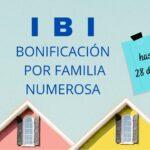 Abierto el plazo para solicitar bonificación por familia numerosa en el Impuesto de Bienes Inmuebles (IBI) en Torrelaguna