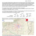 Informe epidemiológico en Torrelaguna a 19 de enero