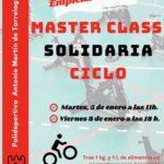 Master Class de Ciclo Solidaria en el Polideportivo
