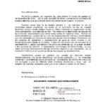 Carta del alcalde a Iberdrola