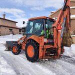Limpieza de calles a 10 de enero