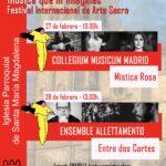 El Festival Internacional de Arte Sacro de la Comunidad de Madrid llega a Torrelaguna este fin de semana