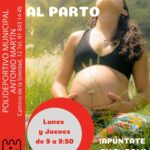 Clases de preparación al parto en el Polideportivo