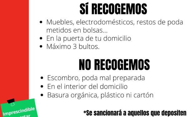 """El Ayuntamiento de Torrelaguna ofrece el Servicio de recogida de muebles y enseres a particulares """"Puerta a Puerta"""""""