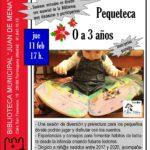 Pequeteca en la Biblioteca Juan de Mena