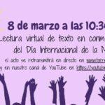 Conmemoración del Día Internacional de la Mujer / 8 de marzo 2021