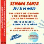 Actividades culturales en Semana Santa para niños y niñas de 8 a 12 años en el Aula Joven