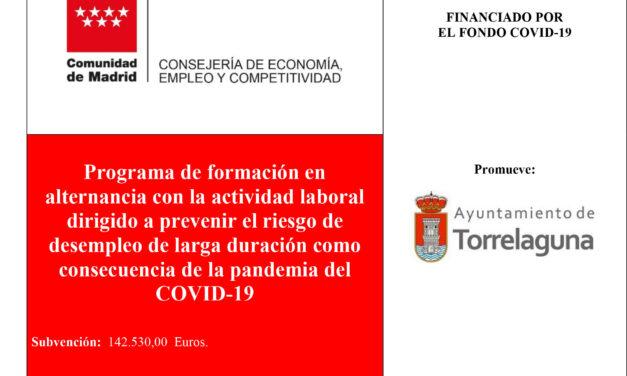 Programa de Formación en alternancia con la actividad laboral dirigido a prevenir el riesgo de desempleo de larga duración como consecuencia de la pandemia del Covid 19