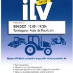 ITV en Torrelaguna Unidad Móvil Agrícola (UMA)