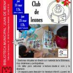 Club de Lectura Leones en la Biblioteca