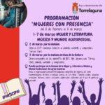 Del 1 al 7 de marzo, Semana de la Mujer en la Literatura, la Música y el Mundo Audiovisual