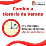 Esta noche se producirá en España el cambio al horario de verano