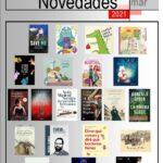 Novedades marzo 2021 en la Biblioteca