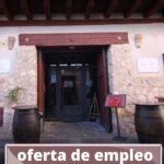 Oferta de empleo del Restaurante Alfolí de la Sal