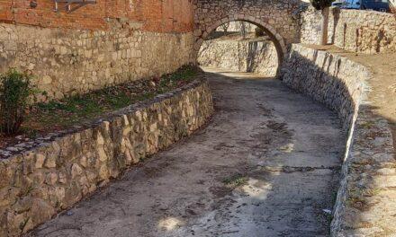 Labores de limpieza en la Fuente Gorda y el Arroyo Matachivos