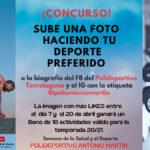Concurso en las Redes Sociales del Polideportivo Antonio Martín