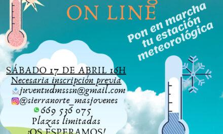 Taller online Introducción a la meteorología