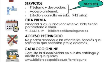 Servicios de la Biblioteca Juan de Mena