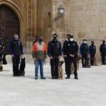 Claus, el nuevo compañero de la Policía local de Torrelaguna