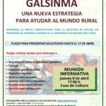 Reunión informativa para solicitar Ayudas para el Desarrollo Rural