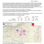 Informe epidemiológico de 25 de mayo en Torrelaguna