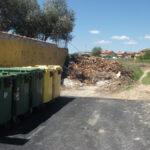 Estado de algunas calles de Torrelaguna después de la poda