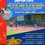 Campamento Deportivo 2021 en el Polideportivo Municipal