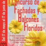 I Concurso de decoración de fachadas y balcones floridos