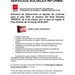 Ayudas para el alquiler de la vivienda en la Comunidad de Madrid