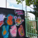 Así avanza el Mural Colectivo de Lengua de signos de La Juven