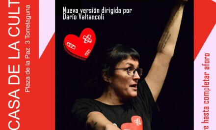 """No solo duelen los golpes"",monólogo de Pamela Palenciano,en Torrelaguna"