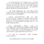 Oferta de empleo en el Ayuntamiento de Torrelaguna